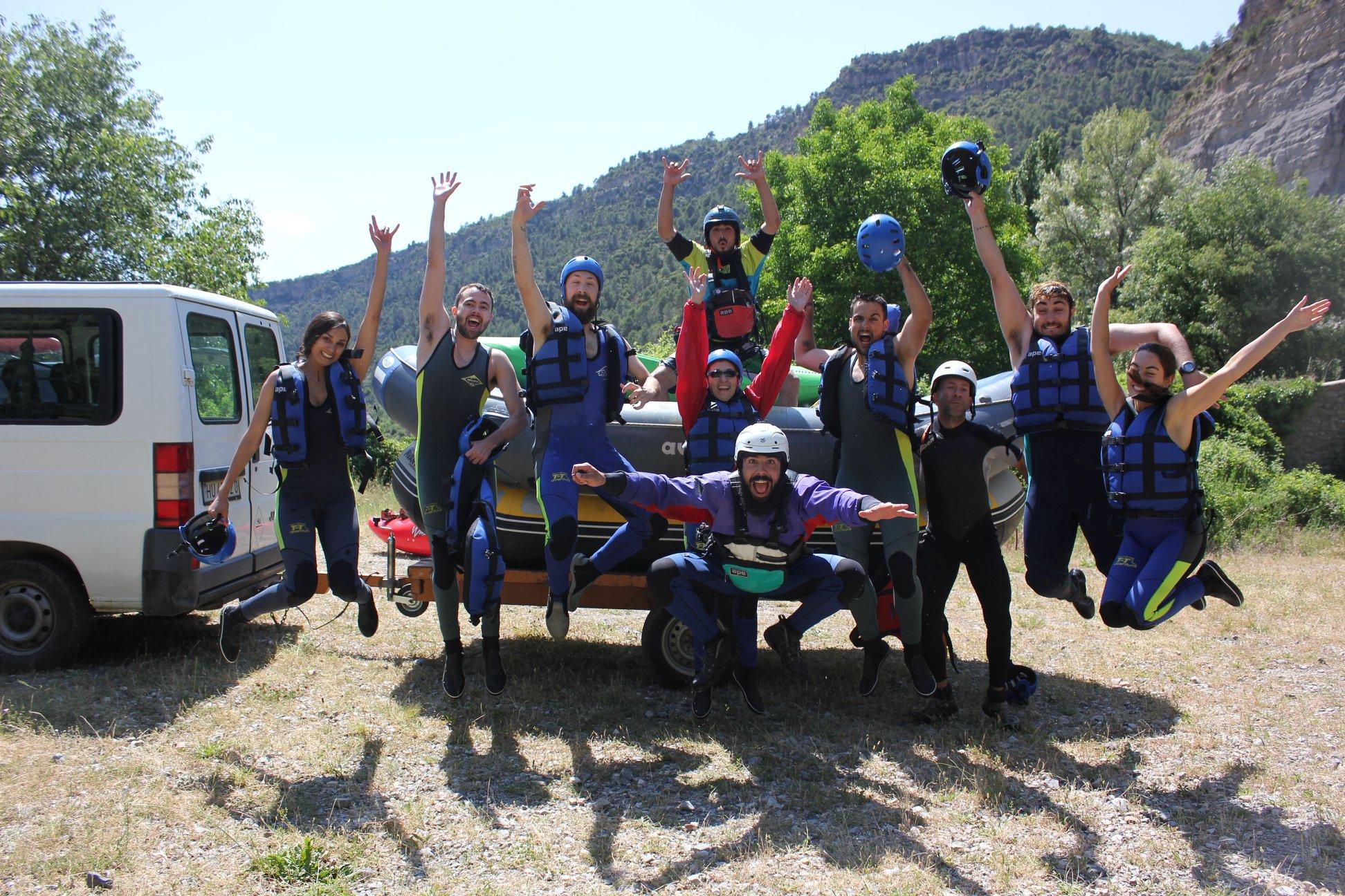 Rafting y Kayak en Benasque ( Pirineo Aragonés )