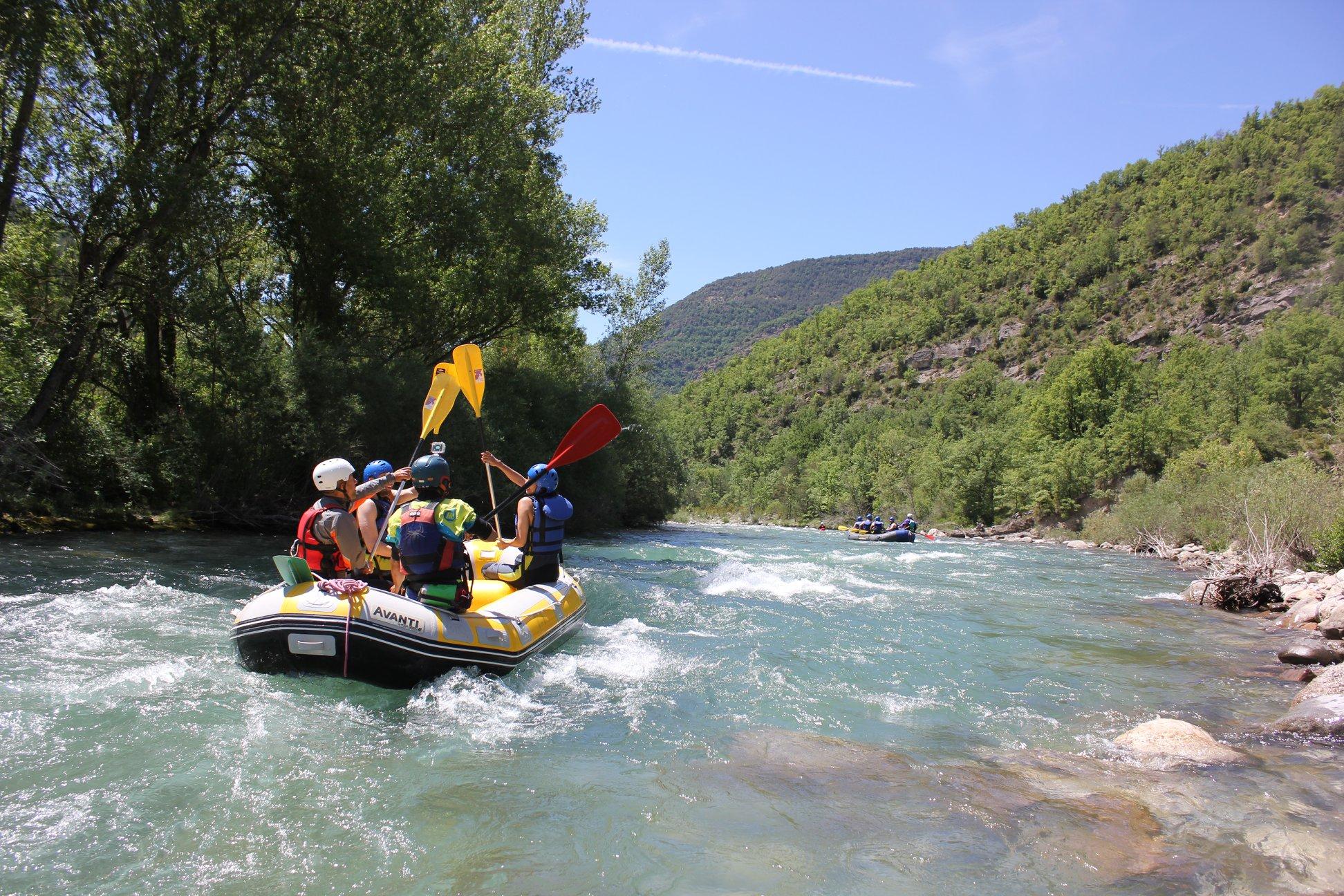 Turismo de Aventura en el Pirineo Aragonés
